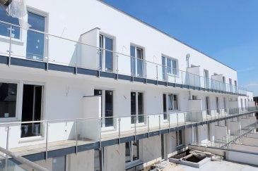 Résidence KYAN à ESCH-SUR-ALZETTE  Immeuble en voie de construction de haut standing composé de 56 appartements et de 5 surfaces commerciales répartis sur 6 étages.  La résidence est située à l'angle de la rue Pasteur et du boulevard Prince Henri et est divisée en deux blocs adjacents, A et B.  Appartement numéro 111 au 1er  étage avec ascenseur de 66,85 m2 et comprenant : hall d'entrée, séjour, cuisine non équipée ouverte sur living, WC séparé, deux chambres à coucher et une salle de bains.  Prix emplacement intérieur : à partir de 37.500,- euros (TVA 3% inclus) Prix cave: à partir de 3.950,- euros (TVA 3% inclus)  Le prix affiché s'entend à 3% de TVA.  Disponibilité: 4ème trimestre 2019.  Esch-sur-Alzette se trouve à 15 minutes de Luxembourg-ville et à proximité de toutes les commodités.  Plans et cahier des charges sur demande  Contact : Nassim Toloui  Téléphone : 691 120 478
