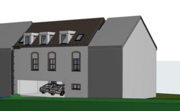 Proximmo vous propose en exclusivité un projet autorisé par la commune de Rosport  pour la transformation et rénovation d'une  maison , spacieuse et claire, avec 3 chambres à coucher à Hinkel.    Cette  maison vous offre sur une surface habitable de +/-130 m2:  Rez-de-chaussée: - hall d'entrée, WC séparé, buanderie, garages pour 2 voitures.  1er étage:   séjour spacieux avec cuisine et accès à la loggia, bureau et cellier.   comble: - hall de nuit, débarras, salle de bain, 3 chambres à coucher dont une avec dressing, WC séparé.  La propriété se trouve sur un terrain de 1,25 ares dans une rue calme et agréable près de la Sûre.  Hinkel est un charmant village situé à 8 km de la ville historique d'Echternach et vous offre une vaste infrastructure: gare routière, écoles, crèche, maison relais, commerces, restaurants, aires de loisirs etc..    Pour tous renseignements: info@proximmo.lu ou +352 691 231 299 Plans sur demande