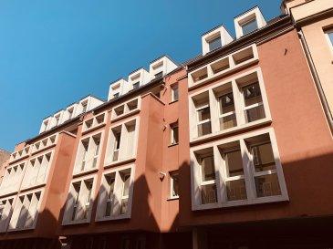 Appartement F2 - 47m2 - Strasbourg Krutenau.  Idéalement situé dans le Quartier de la Krutenau à Strasbourg, à proximité du centre ville, des commerces et des transports, nous proposons à la location, un appartement de type F2 situé en rez de chaussée d'un immeuble récent et sécurisé.   Il comprend: une entrée avec placard, un séjour, une cuisine séparée nue, une chambre et une salle de bain avec WC.   Chauffage et eau chaude individuel électrique.   Disponible au 30/04/2019.  Surface habitable: 47m2  Loyer: 620EUR par mois charges comprises dont 45EUR de provisions sur charges avec régularisation annuelle  Dépot de garantie: 575EUR  Honoraires à la charge du locataire: 564EUR TTC dont 141EUR TTC inclus pour l'état des lieux.