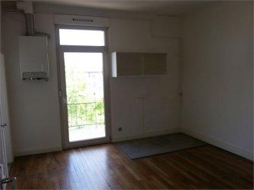 Au 11 rue Nicolas Hamant, appartement situé au 2ème étage. Deux chambres, salon, cuisine. Cave au sous sol. Chauffage individuel au gaz avec production d'eau chaude sanitaire. Deux balcons.