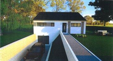 Nous vous proposons un terrain à bâtir hors lotissement dans le joli village de Doncourt-Les-Longuyon à 20 minutes de la frontière luxembourgeoise. Orienté idéalement plein sud, vous pourrez profiter pleinement de votre terrasse et de votre jardin.  Ce projet  de construction est en collaboration avec le constructeur Maison d'En France. Il s'agit d'une maison T5 de plain-pied sur sous-sol COMPLET (livraison environ 12 mois après signature du compromis de vente).  Le terrain présente une façade de 17m.  RDC : Entrée (3.61m²), cuisine (10.54m²) ouverte sur séjour (41.77m²), WC séparé (1.71m²), salle de bain (6.21m²), 3 chambres (10.15/11.16/12.25m²) et un dégagement de 2.62m².  SURFACE TOTALE RDC : 100.02m²  Sous-sol : garage deux voitures, et espaces caves/buanderie/atelier etc... SURFACE TOTALE SOUS-SOL : 110.47m²  SURFACE TOTAL : 210.49m²  Double vitrage, volet électrique, pompe à chaleur etc... toutes les options sont envisageables.  A noter que ce modèle est un exemple et peut être adapté à vos besoins ou remplacer par un autre.