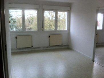 JARNY :<br>Agréable appartement de type  F3 d\'une surface de 55 m² comprenant entrée, cuisine, séjour,deux chambres, salle de bains, wc, cave, garage Chauffage gaz <br>DPE E  <br>LOYER : 430 € + CHARGES 25 €    DEPOT DE GARANTIE : 430 €<br>PAS D\'HONORAIRES D\'AGENCE <br>TEL  06.21.75.88.18<br />Ref agence :2284405