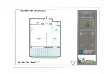 Toute l'équipe de Crown Real Estate est fière de vous présenter ce projet vendu en l'état futur d'achèvement sur Thionville Elange, un appartement de standing en RDC d'un surface de 44m2. Cet appartement se compose d'une entrée desservant une grande pièce à vivre, cuisine ouverte et cellier attenant, agrémenté de grande baies vitrées et fenêtres qui rendront la pièce très lumineuse ouvrant sur une terrasse de 15m2. Une grande chambre vient compléter ce bien ainsi qu'une salle de douche.  Un Parking est inclus dans le prix.  N'hésitez pas à nous contacter pour plus d'informations
