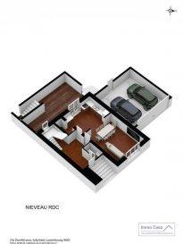 **** VENDU / VENDU ****<br><br><br>Immocasa vous propose une charmante maison à Selscheid (Commune de Wiltz) comprenant:<br><br>Ici MAISON - A<br><br>RCH<br>Grand Hall d\'entrée<br>Cuisine ouverte sur un double de séjour (33.20m2) avec accès à la terrasse (29.46m2)<br>WC séparé<br>Débarras<br><br>1er étage<br>1 chambre à coucher (11.30m2)<br>1 grande chambre à coucher (19.21m2) avec dressing (3.60m2) et salle de douche privative (5.23m2)<br>1 salle de bain (6.20m2)<br><br>Comble<br>Salle hobby (22.00m2)<br>Chambre à coucher (12.54m2) avec <br>dressing (9.76m2) et salle de bain privative (3.93m2)<br>Buanderie (3.75m2)<br>Un grand jardin de 490m2<br>Garage 2 voitures <br>Maison rénovée à 90% (chauffage, électricité, fenêtres et portes, façade, etc.) seul les murs extérieurs restent.<br><br>Pour d\'autres informations, veuillez contacter l\'agence.<br><br>Situation :<br>Selscheid est un village situé à  10 minutes de Wiltz. Wiltz avec ses divers commerces pour les besoins quotidiens, le Centre Hospitalier du Nord, le centre commercial à Pommerloch à  20 minutes, gare à proximité.<br><br>