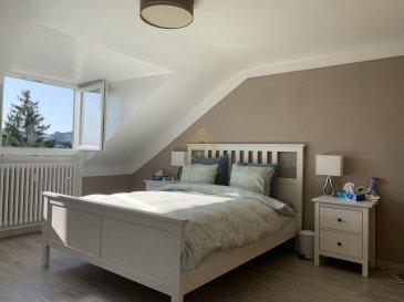 REAL G IMMO, vous propose ce spacieux appartement avec une surface habitable de +/- 60m² dans une petite résidence de 4 unités. Celui-ci se situe dans un quartier calme de Bonnevoie et proche de toutes commodités.  Ce bien se compose comme suit: - Hall d\'entrée, - Cuisine équipée, - Living/ Salle à manger, - 1 salle de douche, - 1 chambre à coucher de +/- 18m²,  À ce bien s\'ajoute une buanderie commune, une cave, un grenier et un jardin privatif.  Pour plus de renseignements ou une visite (visites également possibles le samedi sur rdv), veuillez contacter le 28.66.39.1.  Les prix s\'entendent frais d\'agence de 3 % TVA 17 % inclus.  Les visites ont repris, et nous sommes heureux de pouvoir à nouveau vous revoir ! Notre équipe sera équipée de gants et de masques afin de vous recevoir ou vous faire visiter nos biens en toute sécurité.  Ref agence : 73371