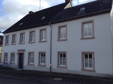 For US Customers only! 260 sqm renovated Farmhouse for rent in 54533 Oberkail, Hauptstraße 2.   Price: 1.250 €   5 x bedrooms,  1 x fully bathrooms,  1 x guest toilet,  1 x laundry room,  1 x buildin kitchen,  1 x dining room (open plan),  1 x living room,  1 x storage room, (basement),  2 x parking lots,  1 x double garage,  1 x back yard.   This property was an ex farmhouse out of 1832 with barn and an inner courtyard (patio). The inner courtyard is surrounded with facilities and fenced in. Finally there is a gate along the house to enter the property. This facility contains a lot of history, for example, through wooden floors and visible oak beams.   Utilities:  Household-electricity: own contract with local provider, (RWE),  Phone/Internet: own contract with local provider, (Telekom),  Heat: Oil purchasing by tenant (VAT-Form),  Water/sewage: 35 € per person monthly,  Garbage-disposal 12 € monthly,  Double-garage: 100 € monthly, (under construction),  Security deposit: 1 x monthly rent.   The property is listed and approved by the US housing office.  When you like to view this property, or you have any questions in advance, please let me know any time!