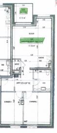 Newgest vous présente : Vente en VEFA d'un appartement (n° 035) au troisième étage de la résidence Véronique en cours de construction au 39 Route de Longwy.  L'appartement traversant de 77,23 m2 de surface utile se compose de la manière suivante: - Entrée - Living avec cuisine ouverte donnant accès à un balcon - 2 chambres - Salle de douche - Débarras L'appartement est vendu avec une cave et un emplacement de parking intérieur.  Le prix indiqué comprend 3% de TVA.  N'hésitez pas de nous contacter au cas d'intérêt .  tria@newgest.lu