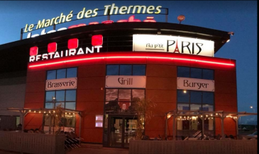 Amnéville centre commercial le marché des Thermes