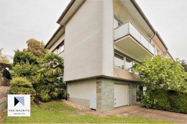 Située à Luxembourg-Cents, quartier résidentiel et recherché de la ville, cette maison