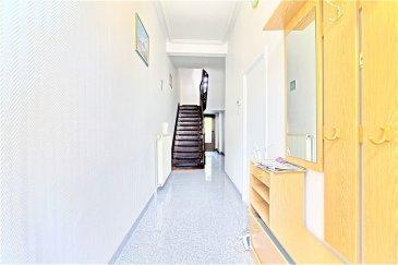 Pour tous renseignements contacter Enrico Xillo: - 691 11 78 65 - enrico.xillo@remax.lu  english below...  RE/MAX Select et Enrico Xillo, vous proposent en location au cœur de la ville d'Esch-sur-Alzette, dans une calme ruelle, à deux pas de la rue d'Alzette et 5 minutes à pied de la Gare, cette belle maison unifamiliale a des finitions supérieures.  La maison accueille avec son espace bien aménagé avec une hauteur rare de 3,3 m au rez-de-chaussée et 7 chambres, 3 +1 salles de bains et deux toilettes séparées.  Rénovée en 2019 et s'étendant sur une surface totale de 350 m² dont 240 m² habitables, cette maison sur 3 niveaux est idéale pour une famille avec possibilité de faire des activités commerciales ou des services administratifs sur un étage. Dès l'entrée, vous serez accueillis par une réception lumineuse menant vers la pièce de séjour de 17 m2 donnant sur deux chambres de 10,3 m2 avec pignon sur rue. La cuisine récente est entièrement équipée. Un wc séparé ainsi qu'une salle de douche complètent le rez-de-chaussée. Au 1er étage, on trouve 1 studio autonome, équipé avec cuisine et salle de bains. 2 chambres spacieuses (17m2 et 11,5m2) donnent sur la rue. Une chambre de 16,6 m2 donne sur une terrasse couverte vers la cour intérieure. Le 2e étage dispose d'un wc séparé et de trois chambres (de 15 m2, de 12,1 m2 et de 16,6 m2, la dernière sous combles). Une salle de douche vient compléter l'ensemble. Cette maison offre également un sous-sol complet avec salle de bains, buanderie, chaufferie, plus deux 2 espaces de rangement supplémentaires et un accès sur la court intérieure de 56 m2. Ce bien vous offrira calme, confort et bien-être au cœur de la ville d'Esch-sur-Alzette à 400m de la Gare.  L'accès vers le réseau autoroutier est facile (2 km vers l'A4, 4 km vers l'université d'Esch-Belval, 16 km vers la Cloche d'Or et 19 km vers la ville de Luxembourg-Hamilius), le trajet en train vers la Gare de Luxembourg ville prend 24 minutes.   Court en calcul :  157m2 (1,57 a