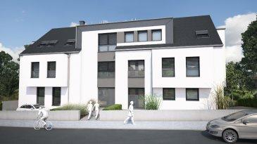 Appartement 1 chambre, séjour, cuisine ouverte, salle de bains, dans une nouvelle résidence à Huncherange sur la commune de Bettembourg de 51,44m2 habitable + 15,88m2 de terrasse.  L'appartement exposé plein sud se situe dans une résidence de 7 appartements, le prix est hors tva et comprend 1 emplacement de parking intérieur et une cave.