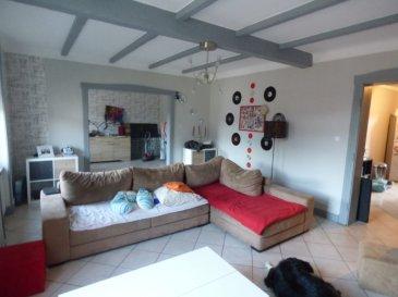 Appartement Knutange 5 pièce(s) 116 m2 3 chambres jardin. Au sein d\'une copropriété de 2 appartements<br/>Au 2ème et dernier étage<br/>Lumineux F5 offrant:<br/><br/>Hall d\'entrée, cuisine équipée indépendante (14m²),salon séjour double de 38m²,salle de bains avec baignoire , douche et meuble vasque, wc séparée.<br/><br/>-En duplex: 3 belles chambres parquetées, 1 buanderie/chaufferie<br/><br/>cave, terrasse et jardin ainsi qu\'une pièce aménagée en rdc<br/><br/>Ainsi qu\'un grand garage pour 2 voitures de 50m²  <br/><br/>DV pvc avec volet roulant,chauffage central au gaz<br/>Fa charge vendeur<br/><br/>Mr Antonoff: 06-52-83-85-07<br/>Copropriété de 4 lots (Pas de procédure en cours).<br/>Charges annuelles : 250.00 euros.