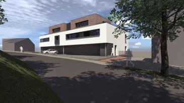 Résidence PANORAMA  Petite Résidence de 6 unités à Wiltz, route de Bastogne, avec vue panoramique  Appartements de 72 à 164 m2  Classe énergétique: A-B  (pompe à chaleur, chauffage au sol, ventilation mécanique, triple vitrage, ...)  Finition prévue: début 2020  Prix affichés: 3% TVAC (sous condition d'acceptation du dossier par l'Enregistrement)  __________________________________________________________   Résidence PANORAMA  kleine Wohnanlage mit 6 Wohnungen in Wiltz, route de Bastogne, mit fantastischer Aussicht  Wohnungen zwischen 72 und 164 m2  Energieklasse: A-B  (Wärmepumpe, Fußbodenheizung, mechanische Ventilation, Dreifachverglasung, ...)  geplante Fertigstellung: Anfang 2020  angegebene Preise inkl. 3% Mwst. (bei Anerkennung durch das Enregistrement)