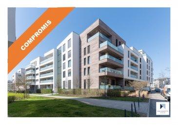 ***SOUS COMPROMIS***SOUS COMPROMIS***SOUS COMPROMIS***  Situé à Luxembourg-Merl, quartier recherché de Luxembourg-ville, à deux pas du conservatoire et de l'ISL (International School Luxembourg), ce bel appartement est situé au rez-de-chaussée d'un immeuble résidentiel, il dispose d'une surface habitable de ± 117 m² pour une surface totale ± 164 m², il se présente comme suit :  Le hall d'entrée ± 13 m² (spots encastrés et vidéophone) conduit à un lumineux séjour ± 34 m² avec une cuisine ouverte, équipée et aménagée (four, micro-ondes, plaque à induction, frigo, plan de travail, nombreux rangements…) donnant sur une magnifique terrasse ± 18 m², orientée Sud-Est avec garde-corps vitrés.  Un couloir ± 3 m² (spots encastrés) dessert 3 chambres à coucher ± 15, 16 et 19 m² ainsi que 2 salles d'eau ± 5 et 6 m² (comprenant douche à l'Italienne, double-vasque, wc, chauffe-serviette).  Au sous-sol : un spacieux garage ± 33 m² (pour 2 voitures) et à l'arrière, une cave privative ± 17 m² complètent l'offre.  Détails complémentaires :  - Appartement dont la construction date de 2016, contemporain, en très bon état ; - Triple vitrage, châssis aluminium, stores électriques ; - Spots encastrés, vidéophone, détecteurs de fumée ; - Terrasse, garde-corps vitrées, orienté Sud-Est ; - Garage pour 2 voitures, cave privative ; - Quartier dynamique : commerces (Cactus), écoles, crèches, parc de merl,  - bien desservi par les transports en commun. - Charges mensuelles : 300€/mois