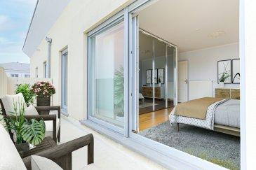 HOMESELL Immo en collaboration avec Mandexpa ce bel appartement-duplex de +/- 98 m2. Situé dans une résidence bien entretenue de 2005, il vous offre une vue dégagée sur tout le Kirchberg.  Il se compose comme suit:  - 2ème étage desservant 1 hall, 1 chambre de 17 m2 avec dressing et 1 salle de douche 1 vasque, WC et une cabine de sauna. La chambre et la salle de bain ont un accès direct à un balcon de 8.703 m2 à l'arrière de la résidence orienté Est.  - 3ème et dernier étage: 1 grand espace de vie ouvert et traversant, desservant une jolie cuisine équipée, un salon-salle à manger avec cheminée et un débarras avec placard. A cet étage, vous disposez de 2 balcons: l'un côté cuisine à l'arrière de la résidence de 8.474 m2 orienté Est et l ' autre côté salon de 18.582 m2 orienté Ouest  Compléments d'informations: Cuisine équipée: électroménager Siemens, machine à laver et sèche-linge Neff Parquet massif dans la pièce à vivre et la chambre Porte blindée Double vitrage Vidéophone aux 2 étages Alarme incendie Fibre optique Chauffage au gaz  Pass énergétique F Un parking intérieur ainsi qu'une cave complète ce bien.     Proche des écoles fondamentales, Ecole européenne de Mamer, hôpital, transports en commun, axes autoroutiers, A 10 mn de Luxembourg centre.  Aucun travaux à prévoir dans la résidence. Façade refaite en 2017. Disponibilité immédiate. Les frais d'agence sont à la charge de la partie venderesse.   Pour plus de renseignements: Tel: 281122-1 ou info@homesell.lu HOMESELL Immo