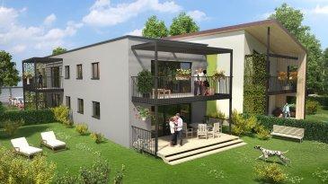 SUPERBE APPARTEMENT F 3 de 68.35 m2 avec terrasse, parking e.  SUPERBE APPARTEMENT NEUF F 3 de 68.35 m2 avec terrasse de 18.25 m2 et jardin de 150 m2, dans résidence en cours de construction , LE CLOS DU PARC PONT A MOUSSON, 200 m de la gare, dans un programme immobilier rare vous offrant un cadre de vie inégalé en vous faisant bénéficier d\'économies d\'énergies. livraison été 2018
