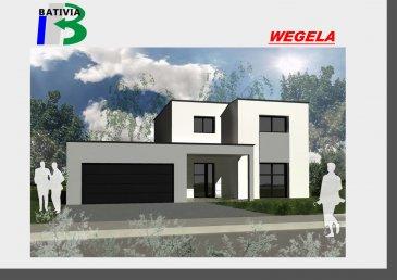 Maisons Bativia constructeur de maisons individuelles, vous propose une maison neuve à faire construire en Lorraine à Oeting. Cette maison résolument contemporaine qui conjugue écologie, confort et solutions innovantes. La lumière s'invite sans condition dans cette maison qui vous procure un sentiment d'espace et de liberté complète. Le modèle de Maisons Bativia est un modèle de maison à étage de 92 m² habitables qui comprend 3 chambres, une salle de bains, et un garage de 24m2 Son architecture est optimisée pour en faire une maison basse consommation   Ce modèle est un exemple possibilité de faire votre projet  sur mesure sur simple demande (agrandissement/réduction). Pour tous renseignements vous pouvez me contacter au bureau                au 03 72 53 01 20 demander Olivier ou sur ma ligne directe au 06 71 09 65 66. A bientôt