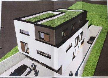 ALGRANGE Terrain à bâtir - Programme neuf de 3 appartements.. TERRAIN à BÂTIR d\'une superficie de 5,39 ares avec possibilité de Programme neuf d\'une belle résidence composée de 3 appartements avec emplacements privatifs ,garages , terrasse et jardin <br/>1 F2  de  58.25 m2 au rez de chaussée <br/>2 x F5  de  100 m2 au 1er et 2ème<br/>avec garages et jardin.<br/><br/>Nous consulter pour renseignements complémentaires.
