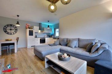 VIP Promotions s.a. vous propose en exclusivité ce superbe appartement d'une surface utile de 63,98 m² sis au premier étage d'une résidence achevée en 2016 à Luxembourg-Hamm.  Découvrez notre offre en visite virtuelle:  https://360.immopro.lu/uploads/HAMM/  L'appartement se compose comme suit:  - Hall d'entrée - Cuisine ouverte et complètement équipée - Lumineux séjour/living menant sur un balcon de 4,5m² orienté plein sud - 2 chambres à coucher - Salle de douche munie de douche à l'italienne - Débarras  Divers:  - Emplacement de parking intérieur - Cave privative - Buanderie commune - Jardin privatif au rez-de-chaussée (accès par l'extérieur de la résidence) - Appartement muni de chauffage au sol, de vidéophone, de fenêtres à triple vitrage avec stores électriques et de ventilation mécanique - Résidence à faible consommation d'énergie - Panneaux solaires pour production d'eau chaude - CDI exigé, offre à saisir rapidement - Appartement non meublé - Disponibilité: 07/2021  Loyer: 1650 Euros Charges: 175 Euros Caution: 4950 Euros Commission d'agence: 1930,50 Euros (1650 + 17% TVA)  Situation centrale, proche de toutes commodités, des grands axes routiers et à proximité de toutes les infrastructures nécessaires.  Pour plus de renseignements ou pour une prise de rendez-vous, veuillez nous contacter au +352 691 901 219 ou bien par e-mail sur info@vippromotions.lu  Suivez-nous sur Facebook pour recevoir nos informations en continu.