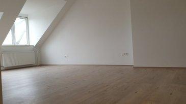 ***VENDU ***  En vente à Gasperich rue René Weimerskirch.  Appartement entièrement rénové en octobre 2019, nouvelles fenêtres triple vitrage.  Se compose de: Un grand séjour, cuisine ouverte entièrement équipée (nouvelle cuisine), une chambre à coucher de 16m² et une pièce pouvant faire office de chambre d'appoint ou bureau, une grande salle de douche avec espace buanderie, un débarras, une cave. L'appartement se situe dans un 3° étage (demie-étages) sans ascenseur.  Font partie de cette vente et en copropriété: une salle de réceptions ou espace de jeux au rez de chaussé, un local à vélos + poucettes ainsi qu'un grand parc/jardin commun.  L'objet  fait parti d'un bail emphytéotique 216 euros par année (le terrain ne vous appartiendra pas).   Pour tout renseignement n'hésitez pas à nous contacter: 691 080 103 ou 691 860 584 www.immocolor.lu