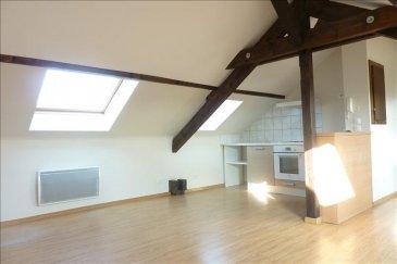 MONDELANGE&colon; <br />Proche gare -Dans maison particulière&comma; beaucoup de charme pour cet appartement F2 entièrement rénové de 50 m2 au sol &lpar;32 m² Carrez&rpar; &comma; composé d\'une entrée&comma; une cuisine équipée ouverte sur séjour&comma; une chambre&comma; une salle d\'eau avec wc&period; <br />chauffage individuel électrique&period;