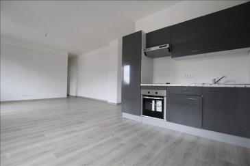 Amnéville Centre.  Spatieux appartement F2 de 58 m² au 1er étage, entièrement refait à neuf. Il se compose d\'une entrée fonctionnelle, d\'une belle chambre avec parquet,  d\'une très grande et agréable pièce de vie lumineuse, et d\'une cuisine meublée et équipée ouverte sur le séjour. Salle de douche avec WC.<br>Aucun travaux à prévoir. Copropriété de 4 appartements Très faibles charges : Environ 130€/an.<br>