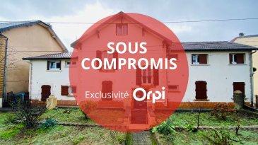 TROP TARD SOUS COMPROMIS : ORPI Villerupt Immobilier, spécialiste de  l\'investissement locatif vous propose ce bel immeuble de rapport  à 12% de rentabilité brut. UNE PÉPITE IDÉAL POUR INVESTISSEUR. La bâtisse, très bien tenue, se compose au RDC d\'un appartement T5 louable 800euros . Les étages desservent 14 chambres meublées dont 12 louées longue durée. Le rapport locatif actuel est de 45 000euros hors charge, chauffage, électricité, eau, taxe foncière et assurance du bâtiment déduits. Chaudière collective gaz récente. Les extérieurs sont en parfait état et disposent d\'un grand jardin et de deux garages privatifs 2 voitures chacun. Le mur de soutènement et l\'allée de garage sont neufs. Quelques travaux de remise au goût du jour intérieurs sont à prévoir ainsi que remise en conformité électrique. Simulation faite en SCI IS, Cash Flow positif de plus de 10 000euros dès la première année. . Pour plus d\'informations contacter Aurore au 06 78 34 12 12. 379000 euros Honoraires à la charge du vendeur.