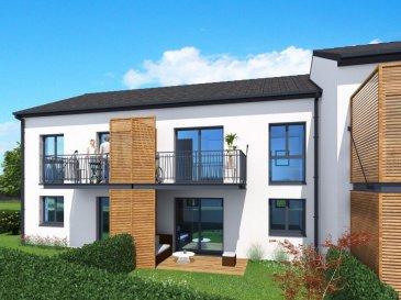 Bientôt votre nouveau logement au coeur d'un programme résidentiel de 22 appartements du F2 au F5. Situé à Kuntzig charmant village, vous serez à quelques minutes du Luxembourg, de Metz, à moins de 5km de Thionville et de Yutz. Ces logements de standing disposent d'une terrasse et jardin en rez-de-chaussée ou balcon au 1er étage. Les parkings extérieurs ainsi que les garages, les celliers et le local à vélo complètent les équipements de cette résidence sécurisée par une barrière d'accès. Livraison le 1er semestre 2019.