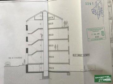 TEMPOCASA Mondorf-les-Bains vous propose à la location un  appartement-duplex composé d'un appartement et d'un grenier au 3ème et dernier étage d'une petite résidence de 4 unités entièrement restaurée.  L'appartment-duplex se compose d'une surface totale de 85 m², dont 68 habitables, se divise comme suit :  1er niveau :   - cuisine ouverte sur salon/salle à manger avec accès à un balcon de 8 m² - salle de douche avec wc - 1 chambre à coucher    2 ème et dernier niveau:  - salle de douche avec wc - 1 chambre à coucher   L'appartement bénéficie d'un contrat de bail pour un garage à 50 mètres de la résidence; le bail est déjà pris en charge pour 3 années par l'actuel propriétaire.  L'appartement dispose également d'une cave de 6m².  La résidence bénéficie également d'un jardin commun, d'une buanderie, d'un local vélo et de l'ascenseur.  La résidence est en cour de rénovation et restructuration totale avec des matériaux de qualité ainsi que de belles finitions.  L'appartement est disponible courant mars 2019. Ref agence :JP117