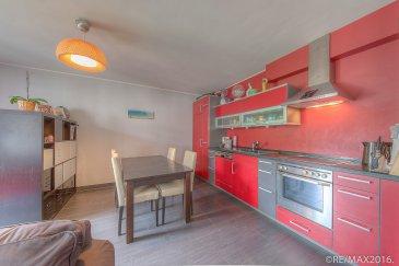 RE/MAX PARTNERS, spécialiste de l'immobilier à Tétange, vous invite à découvrir en exclusivité ce très bel appartement construit en 2005, à la fois pratique et chaleureux, offrant 58m2 de surface habitable.    Il se compose d'un hall d'entrée qui s'ouvre sur un living lumineux et une cuisine équipée de 30m2, avec un accès balcon de +/- 5 m2.   Une spacieuse chambre de 16m2, une salle de douche d'environ 5,5m2 et un wc séparé.     Au rez-de-chaussée: un local vélo, une buanderie commune, ainsi qu'un emplacement intérieur avec accès à une cave privative.    Dans l'environnement proche, vous trouverez toutes les commodités de la vie courante, telles que: banques, bureau de poste, restaurants, écoles, pharmacie, centre médical....   Disponibilité à convenir - nous vous attendons pour une visite!  Contact agent: Carina Santos par téléphone au 621187350 ou par mail carina.santos@remax.lu.