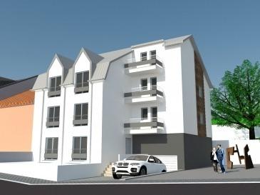 Immo Color vous propose en état futur d'achèvement, un appartement d'une surface habitable de +/- 96,60m² à Rodange pour un prix de 494'123,00€ (3% de TVA inclus!).  Ce bien comprend :  - séjour, cuisine ouverte, salle à manger d'une surface de 32,6m² - 3 chambres à coucher (14,7m², 11,8m² et de 12,5m²) - 1 salle de bain - 1 WC séparé - 2 terrasses donnant accès au jardin privatif de deux côtés (avant et arrière) - box garage, buanderie, cave  Modification du plan de l'intérieur possible (selon faisabilité) Finitions de haute qualité Fenêtres triple vitrage, chauffage au gaz Documentation disponible sur simple demande  Pour toute question, n'hésitez pas à nous contacter tél: 691 080 103 www.immocolor.lu