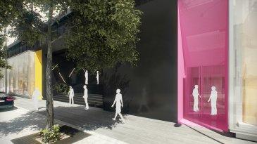 TRAVAUX REALISES A 85 % !!   Dans le quartier du Square Mile, nouvelle réalisation d'un immeuble  mixte appelé