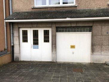 Garage fermé à Belvaux