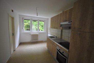 C\'est dans le quartier HAROPRE, que BON\'APPART vous propose ce bel appartement de 99m2 au deuxième étage. <br />Le bien se compose d\'une entrée, une cuisine avec cellier, un grand et lumineux salon/séjour, 3 chambres, et une sale d\'eau avec WC séparé.<br />Il y a également une cave et un garage. <br /><br />Chauffage individuel au gaz.<br />Double vitrage PVC.<br /><br />Charges : 40 ' (Charges de copropriété, TOM, entretien chaudière)<br />DISPONIBLE DE SUITE.