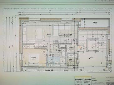 L'agence immobilière SPACEPLUS vous propose à la location un appartement de 61 m2 dans une nouvelle résidence à Mersch. Résidence