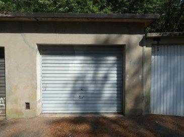 Garage 19m2. Sur la commune de Nilvange - rue des Vosges Garage de 19m2