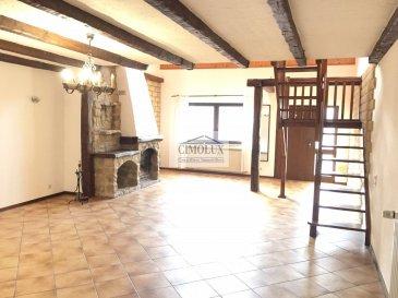 L'agence CIMOLUX vous porpose un beau duplex indépendant situé au coeur d'Ehlange-sur-Mess avec une superficie de  /-140m2. Le duplex dispose: Au rdch: un grand salon/salle à manger de  /-40m2 avec feu ouvert, une cuisine équipée séparée, un WC séparé, un balcon et deux chambres. Au 1er étage: une chambre à coucher et une salle de bain. De plus, le duplex dispose une cave, une buanderie et un emplacement extérieur. 2 mois de caution Charges indépendantes Prix 1600€ (frais d'agence 1 mois de loyer   TVA 17%)  Pour plus d'informations contactez notre agence nous parlons luxembourgeois, français, allemand, anglais, portugais et italien. Ref agence :1441936