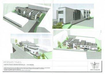 DEVENEZ PROPRIETAIRE de votre maison neuve à Nilvange/Konacker à partir de 249 000 €  Maisons offrant de beaux volumes avec garage et terrasse  Exemples de maisons : - Lot 1 de 118 m2 type F4 avec 3 chambres ,terrasse ,garage, au prix de 249 000 € - Lot 2 de 120 m2 type F4 avec 3 chambres, terrasse ,garage,+ 2 places de parking ,au prix de 269 000 €   INFORMATIONS et DOCUMENTS DISPONIBLES à notre Agence sur simple appel   CONTACTEZ notre responsable projet Mr Vinciguerra au 06.85.55.14.25