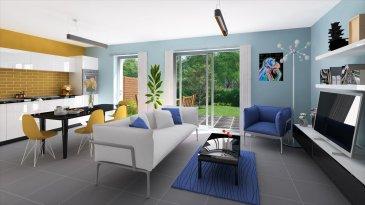 Sur le Domaine du Port Lot B11 Une maison de type F5 d\'une surface de 95,25 m² comprenant un séjour avec cuisine ouverte, trois chambres possible quatre, salle de bains, wc et un belle terrasse de 18 m². Possibilité de personnalisation intérieure sur rendez vous. TRAVAUX EN COURS Frais de Notaire réduits. Prêt à taux zéro possible.