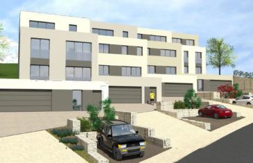 HT immobilier S.A. vous propose ce nouveau lotissement de 4 maisons situé à Wintrange (commune Schengen).  Maison uni-familiale d'une surface de 228 m2 se composant comme suit:  Sous-sol: Garage, cave, local technique, hall d'entrée RDC: Hall, 2 chambres à coucher, 1 salle de bain, 1 salle de douche, dressing 1er étage: Hall, cuisine, living, salle à manger, 2 débarras, bureau, WC séparé, terrasse 2ème étage: Hall de nuit, 3 chambres à coucher, dressing, 1 salle de douche, 1 salle de bain Les combles sont aménageables  1 emplacement de parking complète ce bien.  Classification énergétique A-A-A Prix indiqué TVA 3% sous réserve d'acceptation par l'administration.  Pour plus de renseignements, n'hésitez pas à nous contacter au 24.55.92.78