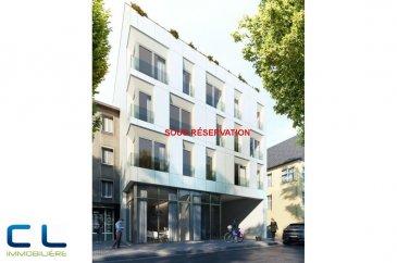 Nous vous proposons à la vente dans le nouveau projet  immobilier de standing « Place Benelux » :  -un appartement au premier étage comprenant :  Une cuisine ouverte sur le living,  grande terrasse de 18 m2, deux chambres à coucher, une salle de bains, une cave.  Ce nouveau projet  à l?architecture contemporaine est constitué de 5 maisons en bande, d?une résidence de 6 appartements et d?un local commercial.  Il est idéalement situé à la Place Benelux, dans le quartier résidentiel d?Esch nord, quartier calme et accueillant, qui possède encore de petits magasins de proximité, d?autres infrastructures (telles que piscine, école, crèches, hôpital ?) ou services (poste, banques etc), se trouvent aussi dans ce quartier. Les transports en commun ainsi que l?autoroute A 4 se trouvent à quelques mètres.  A 5 minutes en voiture du site Belval.  Les prix indiqués comprennent la TVA à hauteur de 3%, il y a la possibilité d?acheter en supplément des emplacements de parking intérieurs.  N?hésitez pas à nous contacter pour de plus amples renseignements, les plans et cahier de charges sont à votre disposition sur  simple demande.  Commission d\'agence comprise dans le prix à la charge du vendeur.    Ref agence :EACVB69-79A1_1