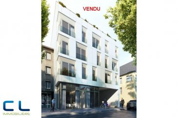 **** VENDU **** Nous vous proposons à la vente dans le nouveau projet  immobilier de standing « Place Benelux » :  -un appartement au premier étage comprenant :  Une cuisine ouverte sur le living,  grande terrasse de 18 m2, deux chambres à coucher, une salle de bains, une cave.  Ce nouveau projet  à l?architecture contemporaine est constitué de 5 maisons en bande, d?une résidence de 6 appartements et d?un local commercial.  Il est idéalement situé à la Place Benelux, dans le quartier résidentiel d?Esch nord, quartier calme et accueillant, qui possède encore de petits magasins de proximité, d?autres infrastructures (telles que piscine, école, crèches, hôpital ?) ou services (poste, banques etc), se trouvent aussi dans ce quartier. Les transports en commun ainsi que l?autoroute A 4 se trouvent à quelques mètres.  A 5 minutes en voiture du site Belval.  Les prix indiqués comprennent la TVA à hauteur de 3%, il y a la possibilité d?acheter en supplément des emplacements de parking intérieurs.  N?hésitez pas à nous contacter pour de plus amples renseignements, les plans et cahier de charges sont à votre disposition sur  simple demande.  Commission d\'agence comprise dans le prix à la charge du vendeur.    Ref agence :EACVB69-79A1_1