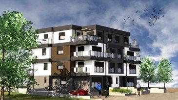 RE/MAX, spécialiste de l'immobilier à Dudelange, a le plaisir de vous proposer à la vente ce bel d'une surface d'environ 115m2 avec deux balcons de 18,35 m2 (ensemble). Vente en future état d'achèvement (VEFA)  La résidence dispose d'un grand sous-sol commun, avec 12 emplacements, caves, buanderie commune, local à poubelles, local technique et le local à vélos.  Actuellement, il est encore possible de changer la configuration intérieur (murs, taille des pièces, SDB,SDD) etcà Les appartements/Penthouses seront  livrés