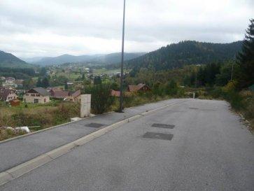 Axe REMIREMONT/GERARDMER  3 Terrains viabilsés sur les hauteurs avec belle vue dégagée terrain de 800 m² 1100 m²