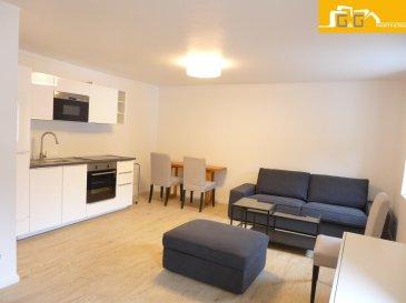 ---LOUE--- ---RENTED---  Très beau duplex entièrement rénové et meublé d'une belle surface utilisable de 52 m2, situé au 2ième étage d'une petite résidence soignée à Luxembourg-Rollingergrund.   Ce bien se compose de :   - 1 spacieux living de 18 m2  - 1 cuisine équipée ouverte de 7 m2 - 1 chambre à coucher de 11 m2 (surface utilisable 23 m2)  - 1 salle de douche avec WC - 1 buanderie commune avec lave-linge et sèche-linge - 1 emplacement devant la résidence - Charges 150 € TTC par mois (sauf internet ; télévision et téléphone)  - Libre de suite  À proximité directe du centre ville et du Kirchberg, transports publics à 2 pas. Accès directe aux grands axes d'autoroutes, supermarchés, restaurants et écoles.  N'attendez plus, contactez-nous par mail sur info@gng.lu ou au 621 366 377.  Découvrez toutes nos offres sur www.gng.lu