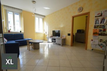 L'agence XL vous propose à la location cet appartement avec balcon et cave, au premier étage d'une petite résidence de seulement trois unités idéalement située à Esch-sur-Alzette.  Sur une surface habitable de 63 m², cet appartement lumineux est divisé comme suit:  - Un hall d'entrée de 5 m² desservant toutes les pièces de l'appartement - Un séjour de 21 m² - Une cuisine équipée fermée de 9,5 m² - Une chambre à coucher de 12,5 m² avec accès sur un joli balcon de 5 m² - Une salle de douche de 5,5 m² - Un espace buanderie de 1,7 m² - Une pièce aménagée supplémentaire de 6,5 m² (bureau ou chambre d'enfant)  Conditions de location: - Durée minimum d'1 à 2 ans - Caution: 2 mois de loyer - Frais d'agence: 1 mois de loyer  Disponibilité: immédiate  Visites sur rendez-vous.