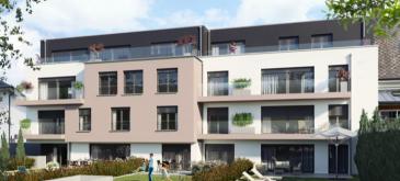 NIEDERKORN  Newgest vous propose prochainement en construction un appartement situé au 2ème étage surface 104 m2 habitables + terrasse de +- 10 m2, comprenant :  - Hall d'accueil - Salon et salle à manger avec accès terrasse. - Cuisine ouverte - 2 Salles de bains/douche  - Wc séparé - 3 chambres à coucher - Cave privative et buanderie commune  Possibilité d'acquérir un parking intérieur simple au prix de 25 000.€ ou un parking intérieur double au prix de 39 000€  LES PRIX ANNONCES S'ENTENDENT TTC 3%  N'hésitez pas de nous contacter par mail au cas d'intérêt   info@newgest.lu