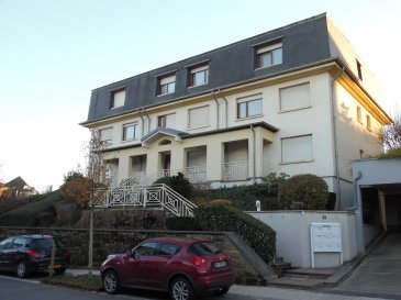 Appartement de 53m2, situé au 1.étage, qui se compose comme suit:  - 1 chambre à coucher - living avec balcon - cuisine équipée - salle de douche - wc sépare - cave - emplacement voiture inétieur  Pour plus d'informations, veuillez contacter M. Jérôme Stoffel au numéro 661.501.302.