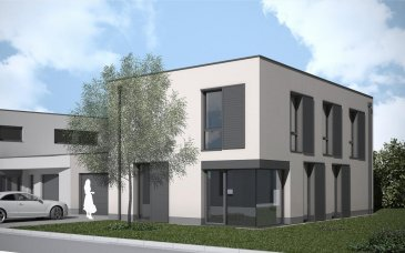 """Saeul lotissement """"Zaerepesch"""" Lot 21Maison jumelée par le garage  Belle maison contemporaine jumelée par le garage, finition clé en mains, est située sur un terrain de +/- 4,17 ares. La maison vous offre une surface habitable de 142,84 m², un garage de 25,41 m², une terrasse de 20 m² et un abri de jardin de 4,27 m². Le prix de 715.000.- ? comprend le terrain, la maison clé en mains, les frais d'architecte et TVA 3% (sous réserve d'obtention de l'agrément de l'Administration de l'Enregistrement) Sont inclus dans le prix de vente suivant cahier de charges: Mise en peinture de la maison et varioflies. Accès aux garages et à l'entrée de la maison en pavés de béton. Terrasse dalles sur plots  Pour toutes informations supplémentaires : Aexus Real Estate Tel : 277 50 40 r.klein@aexus .lu  Ref agence :Saeul Lot 21 Zaerepesch"""