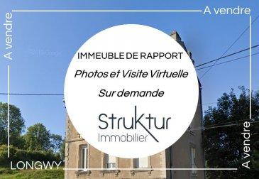 .  +++ Immeuble de rapport +++ <br><br> Struktur Immoibilier vous présente cet immeuble composé de 4 appartements de type F2 d\'environ 50 m2 avec cuisine équipée et chauffage individuel au gaz.<br><br> Caves, grenier et 3 emplacements de stationnement extérieurs<br><br> Revenu locatif : 1890 EUR<br><br> Plus d\'informations : 03 87 63 50 30